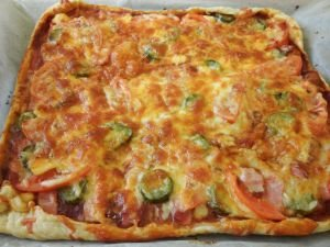 Homemade Puff Pastry Pizza