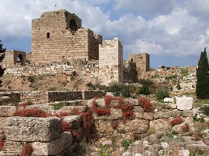 Crusadors Castle in Byblos