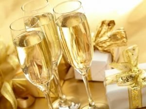 Champagne and Gifts