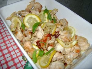 Limoncello Garlic Chicken