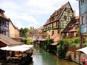 Petit Venice in Colmar, France