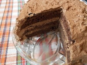 Chocolate Cake with Rum