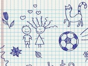 What do our Random Scribbles Reveal About us?