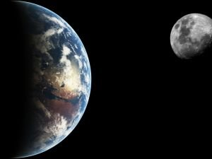 The Moon Steals a Little of Earth's Atmosphere Every Day