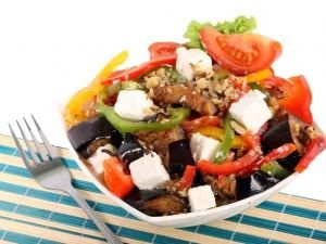 Greek Eggplant Salad
