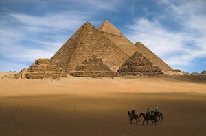 Secrets of the Cheops pyramid