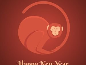 The Year 2016 is the Year of the Red Fire Monkey