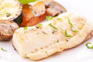 Baked Fish Fillets with Potatoes