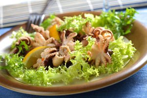 How to Make a Spanish Style Calamari Salad