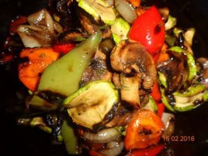 Tasty Marinated Grilled Vegetables