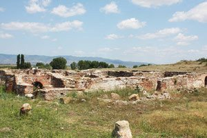 Ruins of the thracian city Kabyle