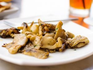 Oven-Baked Oyster Mushrooms