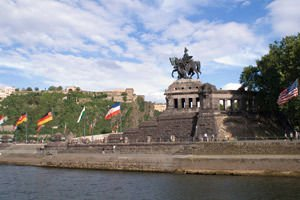 Statue of Wilhelm I in Koblenz - German Corner