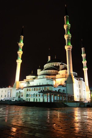 Kocatepe Mosque in Ankara