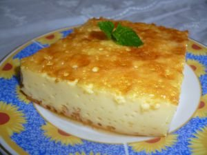 Creme Caramel in a Tray