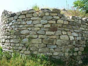 Fortress wall of Krumovo Kale
