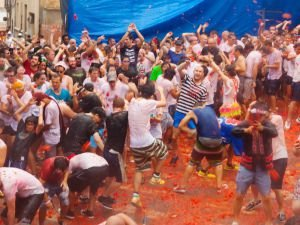 Epic Tomato Fights at the La Tomatina Festival