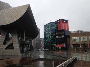 Lowry Theater in Manchester