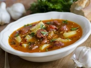 Spicy Sausage Dish