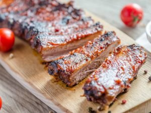 Marinated Ribs on the Grill