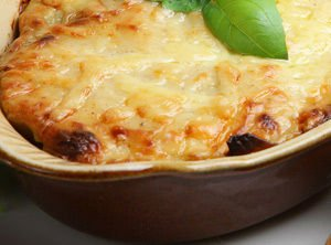 Mashed Potatoes with Cheese in the Oven