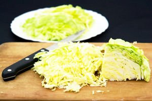 Preservation and storage of fresh cabbage