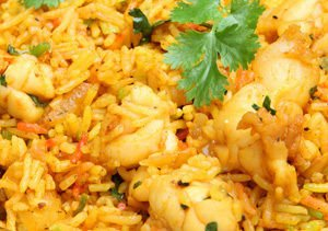 Chicken with Rice and Spices