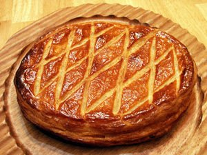 Puff Pastry Cake with Almond Cream