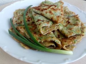 Aromatic Pancakes with Zucchini