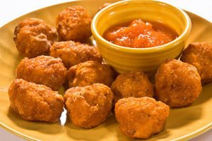 Chicken Nuggets with Cheese