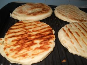 Flatbread on a Grill