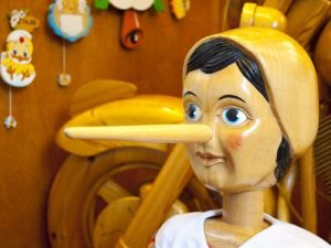 Pinocchio's Neck Breaks After 13 Lies