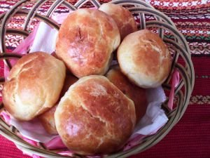 Delicious Buns with Feta Cheese