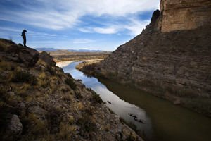 Santa Elena Canyon in Big Bend
