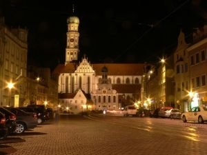 St. Ulrich church in Augsburg