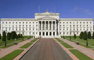 Stormont Parliament Building in Northern Ireland