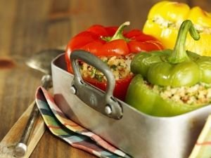 Stuffed Peppers with Spelt