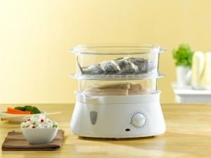 Devices for cooking with steam