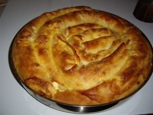 Rolled Phyllo Pastry Pie