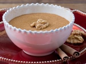 Pudding with Nuts