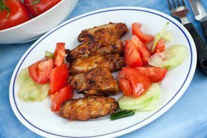 Marinated Grilled Chicken Wings