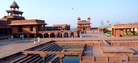 Fatehpur Sikri complex in India