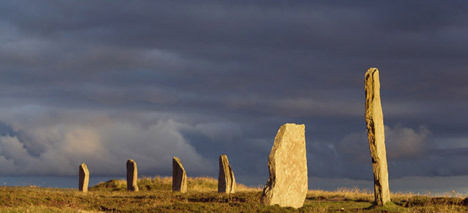 Ring of Brodgar in Scotland
