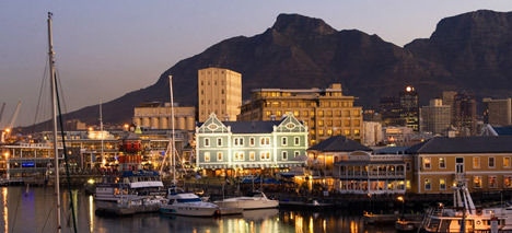 Cape Town and the beautiful Table Mountain