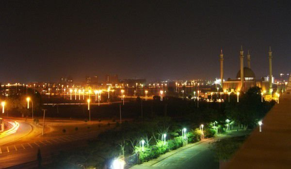 Abuja at night