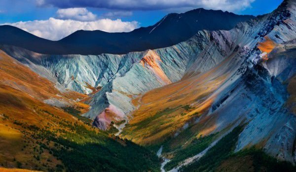 Asian Altay Mountains