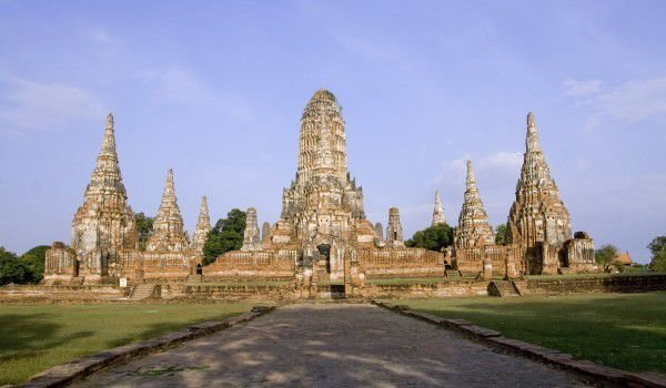One of the many temples of Ayutthaya Kingdom in Thailand
