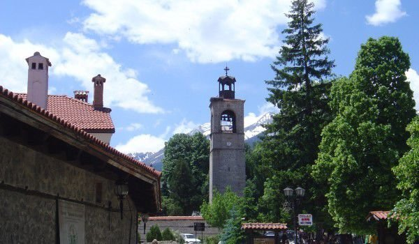 Bansko and the Holy Trinity Church