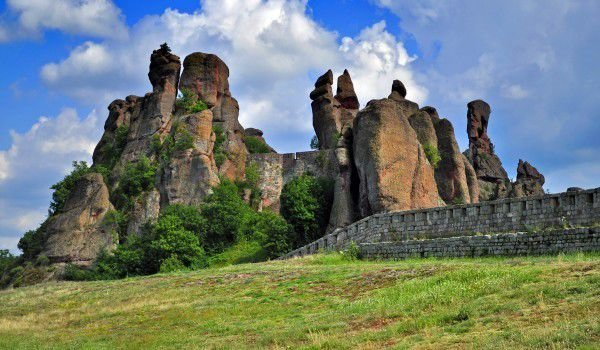 Belogradchik Rocks and Fortress in Bulgaria