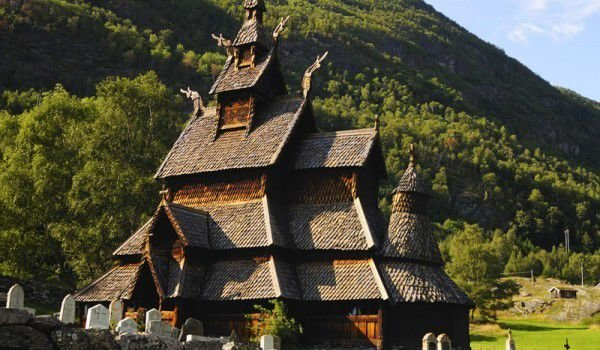 Bordung Stave Church, Norway